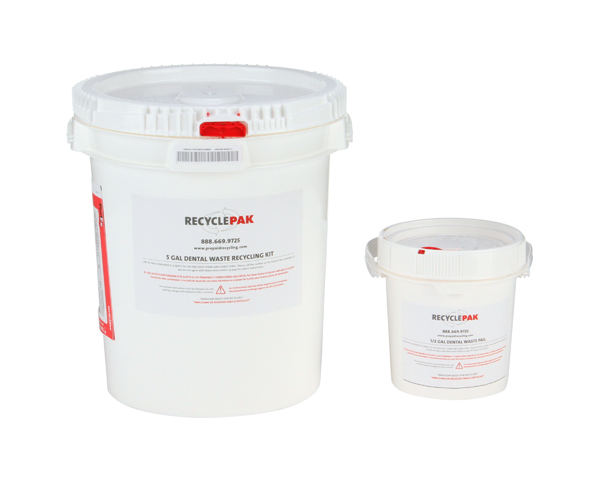 SUPPLY125D- 5 GAL DENTAL WASTE RECYCLING PAIL